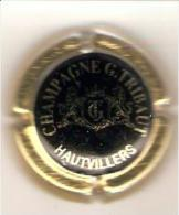 CAPSULE MUSELET CHAMPAGNE TRIBAUT HAUTVILLERS  Noir Et Or - Tribaut