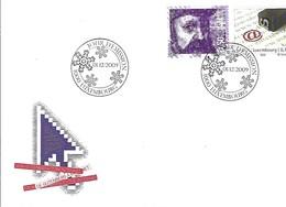 FDC - JOUR D'ÉMISSION   1-12-2009   -   VON GUTENBERG ZU INTERNET - FDC