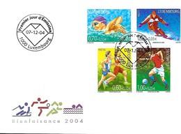 FDC - JOUR D'ÉMISSION   2-12-2004  -   BIENFAISANCE  2004 - FDC