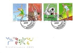 FDC - JOUR D'ÉMISSION   6-12-2005 -   BIENFAISANCE  2005 - FDC