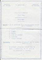 Réveillon Noël 1942. Programme. Dinant. Anseremme. Quartier St-Pierre Et Quartier St-Nicolas - Programma's