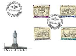 FDC - JOUR D'ÉMISSION    30-11-1999   -   JEAN BERTELS - FDC