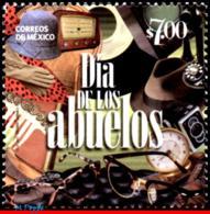 Ref. MX-2828 MEXICO 2013 MOTHER�S DAY, GRANDPARENTS DAY,, TELEPHONE, CLOCK, SEASONAL, MNH 1V Sc# 2828 - Mexiko