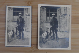 Gent Politie  Doodsprentje Foto  +1935 Langerock 2 Stuks Zeldzaam Echte Foto Extra - Religion & Esotericism