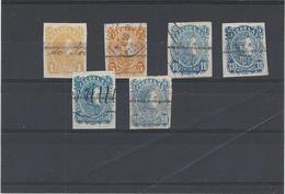 Venezuela ,francobolli Fiscali Postali ,6 Pezzi Usati ,splendidi - Venezuela