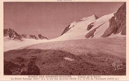 Massif Des Grandes Rousses - Glacier De Saint Sorlin - Le Grand Sauvage - Le Col Des Quirlies - Le Pic De L'étendard - Frankreich