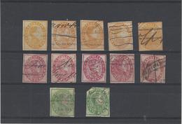 Venezuela ,francobolli Fiscali Postali ,12 Pezzi Usati ,uno Difettoso - Venezuela