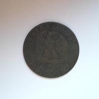 5 Centimes Münze Aus Frankreich Von 1854 BB (sehr Schön) - Frankreich