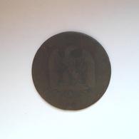 5 Centimes Münze Aus Frankreich Von 1854 A (schön) - Frankreich