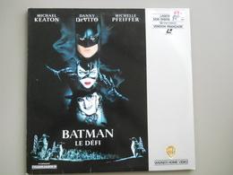 LASERDISC - PAL VF - BATMAN Le Défi - Tim Burton - Mchael Keaton - Autres Collections