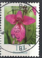 Allemagne 2019 Oblitéré Rond Used Fleurs Wild Gladiole Glaïeul Sauvage SU - Gebraucht