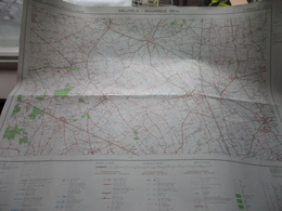 GELUVELD - MOORSELE () Anno IGMB 1977 - Schaal / Echelle / Scale 1: 25.000 ( Edit. 2 - M834 28/3-4 ) Zwarte Bol ! - Landkarten