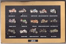 PIN'S LOT MOTO 15 Pin's L'AGE D'OR (1925 1945) - Motos