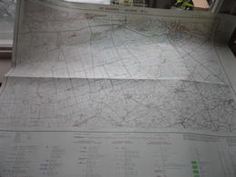 DE MOEREN - VEURNE () Anno IGMB 1978 - Schaal / Echelle / Scale 1: 25.000 ( Edit. 2 - M834 19/3-4 ) Zwarte Bol ! - Geographical Maps