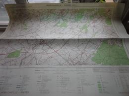 HENRI-CHAPELLE - RAEREN () Anno IGMB 1976 - Schaal / Echelle / Scale 1: 25.000 ( Edit. 2 - M834 43/1-2 ) Zwarte Bol ! - Cartes Géographiques