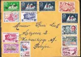 1969 St.Piere Et Miquelon - Interesting Cover To Poland - Briefe U. Dokumente