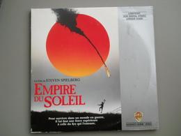 LASERDISC - PAL VF - L'Empire Du Soleil  - Steven Spielberg - Christian Bale, John Malkovich - Autres Collections