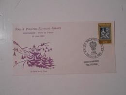FRANCE FDC COMMEMORATIVE RALLYE PHILATEC, PONTARLIER - 1960-1969