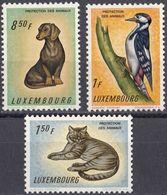 LUSSEMBURGO - 1961 - Lotto Di 3 Valori Nuovi MNH: Yvert 395, 396 E 398. - Nuovi
