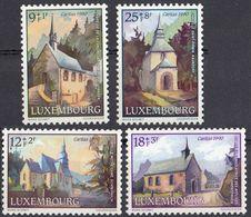 LUSSEMBURGO - 1990 - Serie Completa Di 4 Valori Nuovi MNH: Yvert 1209/1212. - Lussemburgo