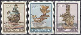 LUSSEMBURGO - 1990 - Serie Completa Di 3 Valori Nuovi MNH: Yvert 1198/1200. - Lussemburgo