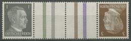 Deutsches Reich 1941 Hitler Zusammendruck KZ 37 Postfrisch - Se-Tenant