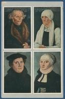 Martin Luther Und Eltern Gemälde Wartburg, Gelaufen 1921 (AK1933) - Eisenach