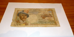 Billet Ancien Guadeloupe De 50 Francs - France
