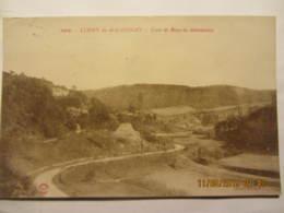 Cpa LUGNY EN MACONNAIS (71) Route De Bissy La Maconnaise - France