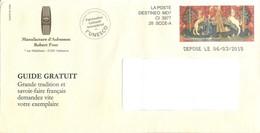 "Destineo MD7 Avec Simili-timbre Tapisserie ""La Dame à La Licorne"" De La Manufacture D'Aubusson - Marcofilia (sobres)"