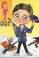 7-CARTOLINA OCCHI MOBILI-JAMES BOND(007) - Cartoline