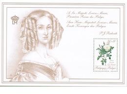 1990  Promotie Van De Filatelie III Koningin Louisa-Maria - Belgique