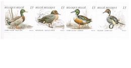 1989  Postzegelboekje.  Natuur.  Eenden.  Canards. - België