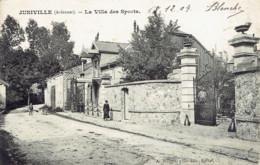 08 Juniville La Villa Des Sports 1904 Wilmet Rethel - Altri Comuni