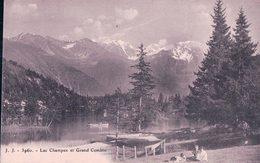 Champex VS, Barque Et Ballade Autour Du Lac (3960) - VS Valais