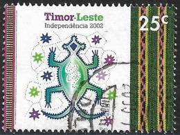 East Timor – 2002 Independence Used 25 C. - Osttimor