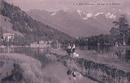 Champex VS, Barque Et Ballade Autour Du Lac (3947) - VS Valais