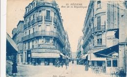 CPA - France - (34) Hérault - Beziers - Rue De La République - Beziers