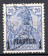 LEVANT - (Bureaux Allemands) - 1900-05 - N° 13 Et 43 - 1 Pi. S. 20 P. Bleu - (Lot De 2 Valeurs Différentes) - Turkish Empire