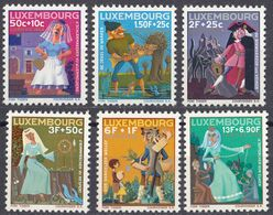 LUSSEMBURGO - 1966 - Serie Completa Di 6 Valori Nuovi MNH: Yvert 691/696. - Nuovi