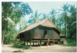 Malaysia, A Typical Malay House - Malaysia