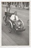 CYCLISME. PHOTO. POUSSE-POUSSE. VIET-NAM ? A SITUER. - Ciclismo