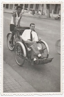 CYCLISME. PHOTO. POUSSE-POUSSE. VIET-NAM ? A SITUER. - Cycling