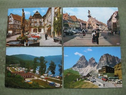 LOT DE 40 CPSM/CPM THEME VOITURE / CAR / AUTO - Cartes Postales