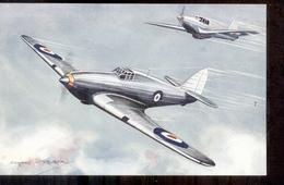 Aeroplane -  Avion - Hawker Hurricane Single Seat Fighter - 1920 - Aviation