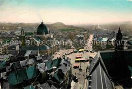 72892980 Charleroi Hainaut Wallonie Basilique Et Panoramique Aerienne - Belgio