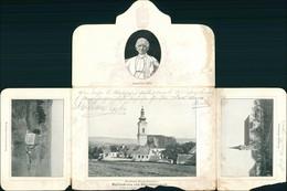 Ansichtskarte Linz Wallfahrten Oberöstereich Folder Pabst Leo XIII 1907 - Austria