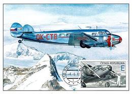 CM 1042 - 3 Czech Republic The World In Clouds 2019 Bata's Plane - Czech Republic