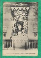 Vinneuf (89) Chapelle Notre-Dame De Champrond (Champ-Rond) Vue Intérieure 2scans - France