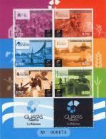 Lote EC6, Ecuador, 2012, Guayas, Pliego, Sheet, Cocoa, Sugar Cane, Cycling, Rice, Crucifix, Crucifijo - Ecuador